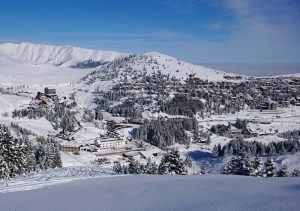 winter sports in the Balkans